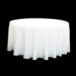 "120"" Round Table Linen Rental"