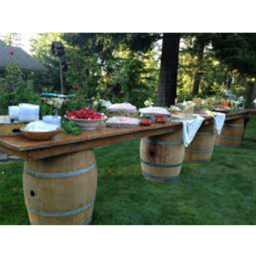 Barrel Buffet Rental