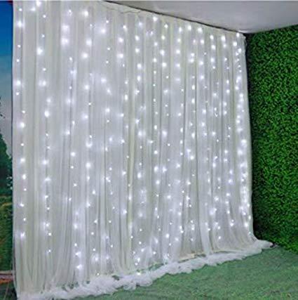 Organza Curtain Backdrop 8 X 10 Led Lights Lgs Events